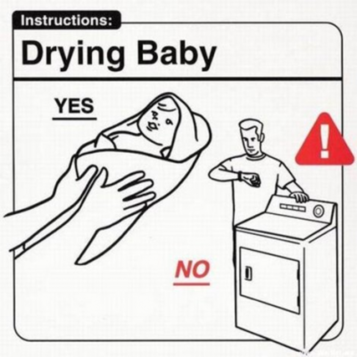 How to Dry your baby