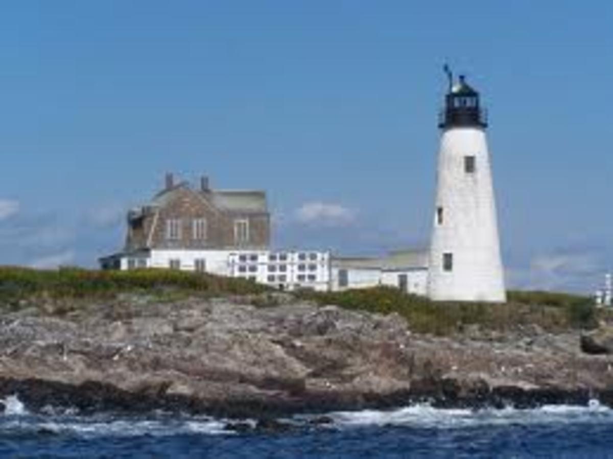 Wood Island Haunted Light House