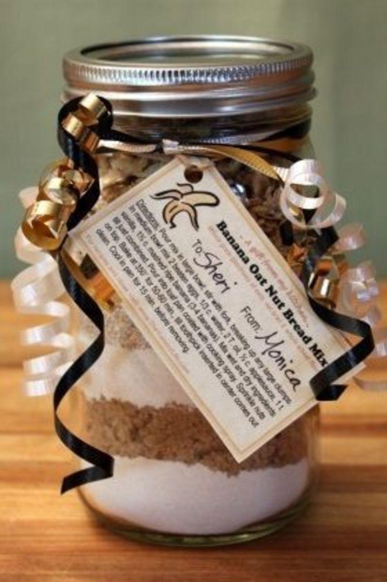 Beautiful gift in a jar.