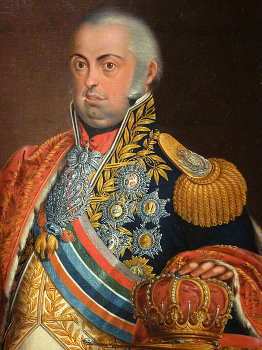 Prince John of Portugal who ruled as regent in his insane mother's stead. He would later become John or Joao IV.