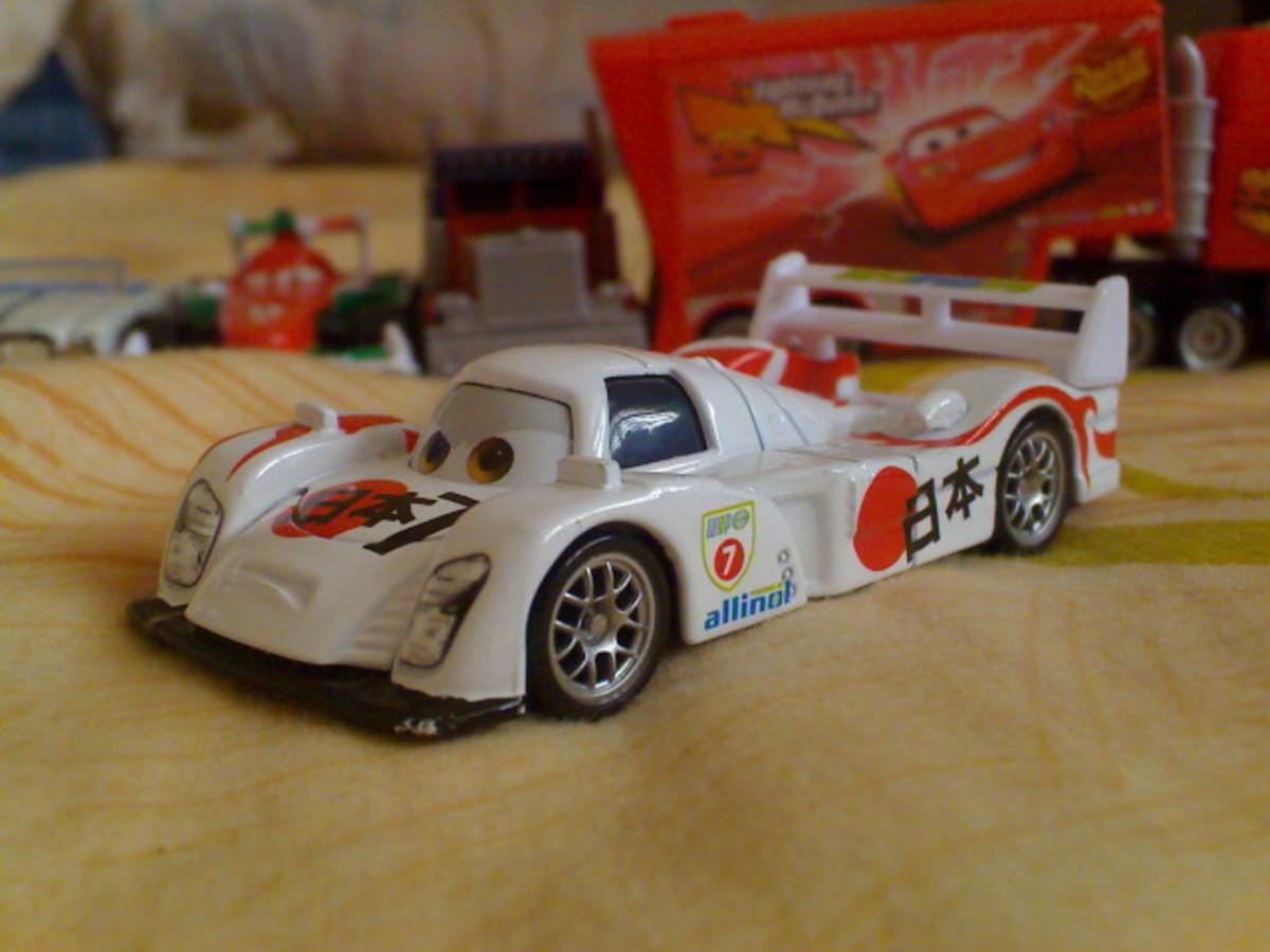 Shu Todoroki Disney CARS diecast