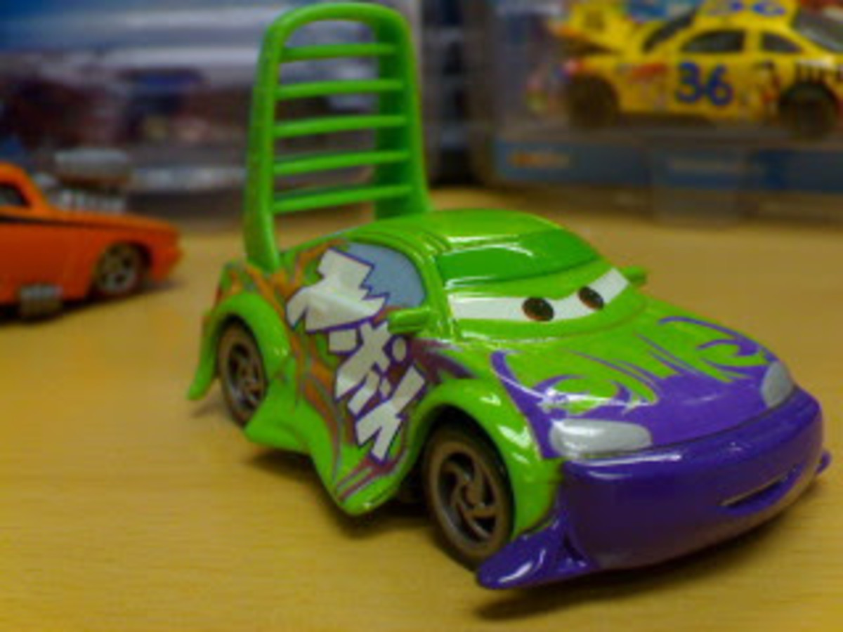 The troubles and problems of Disney CARS diecast collecting