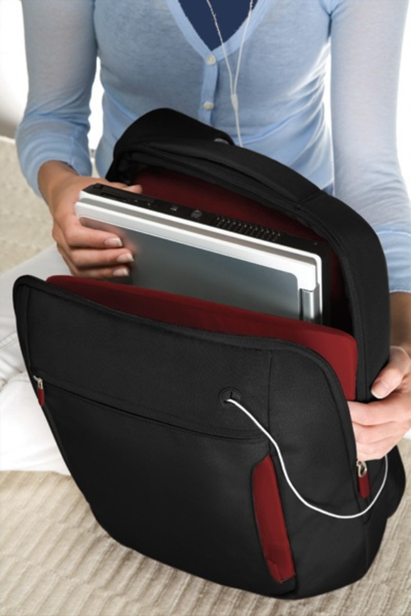 "Belkin Slim 15.4"" Notebook Polyester Backpack"