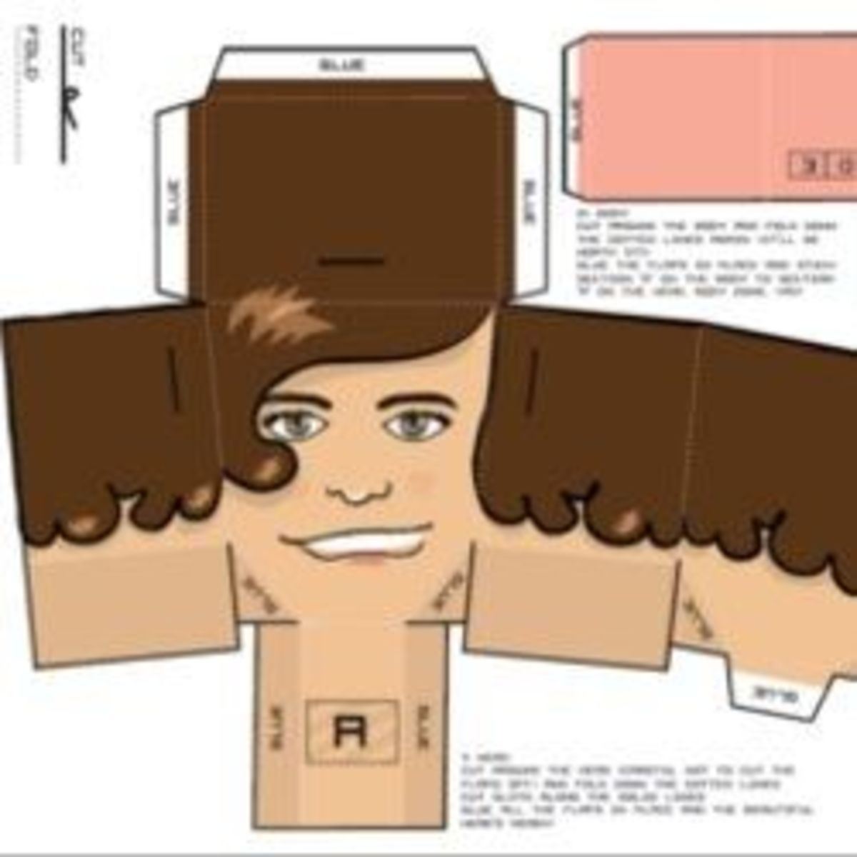 One Direction Paper Dolls