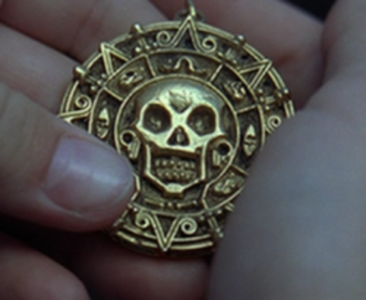 The Pirate Medallion from The Pirates of the Caribbean