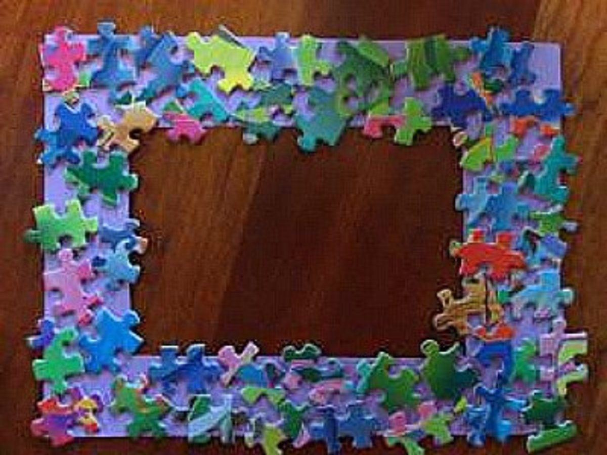 34 Amazing Puzzle Pieces Craft Ideas | HubPages