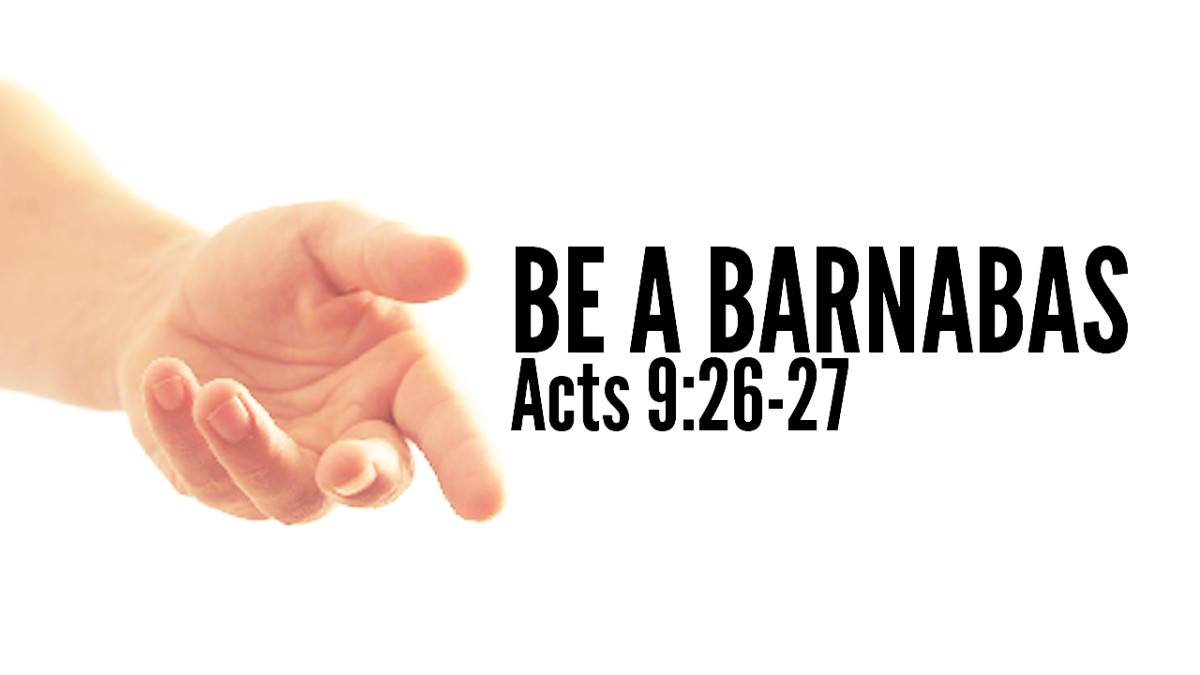 Barnabas, Acts, Be a Barnabas. Bible, Scripture, Acts