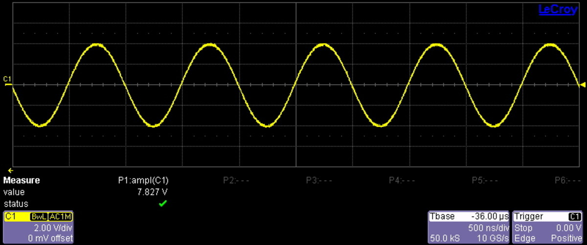 Where one man sees a wavelength, another sees data on a time domain graph.