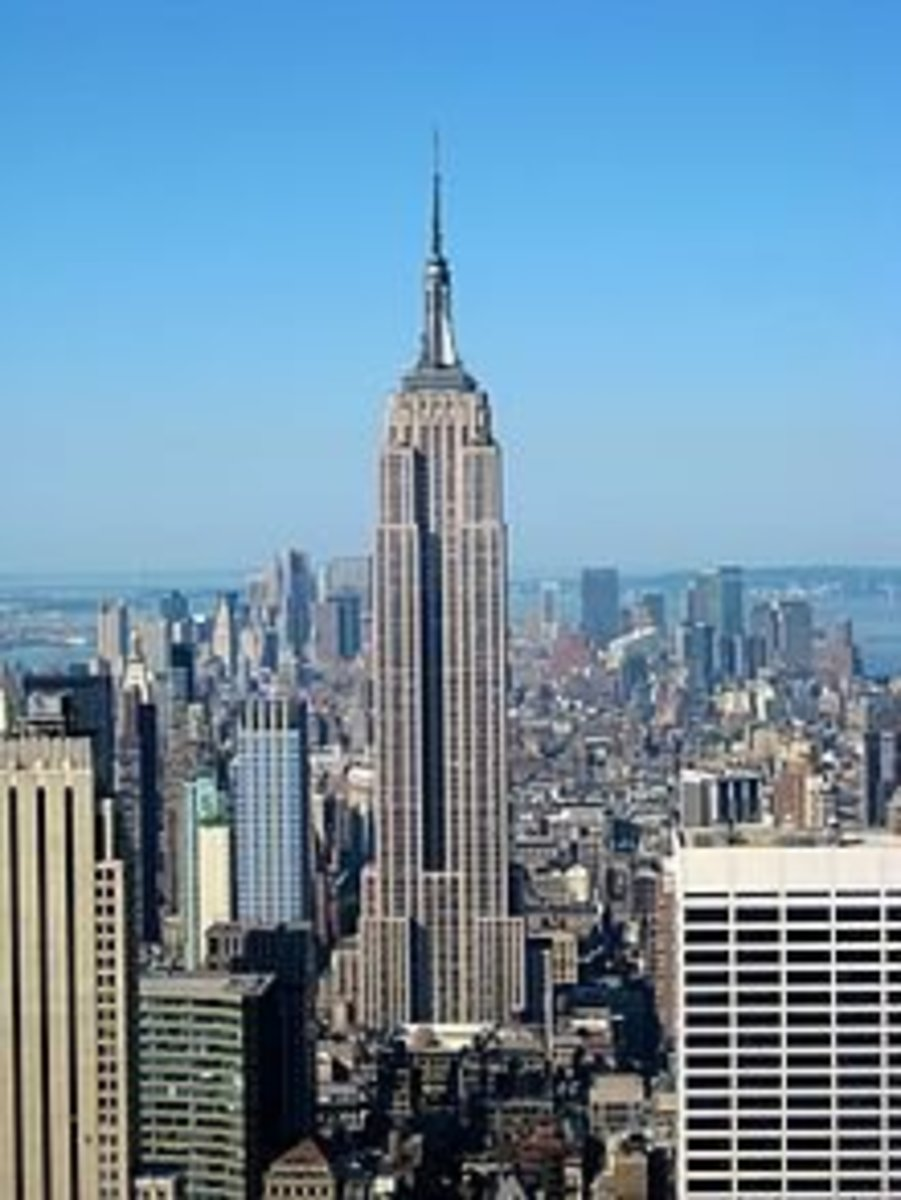 Empire State Building, made from Indiana's Bedford Limestone