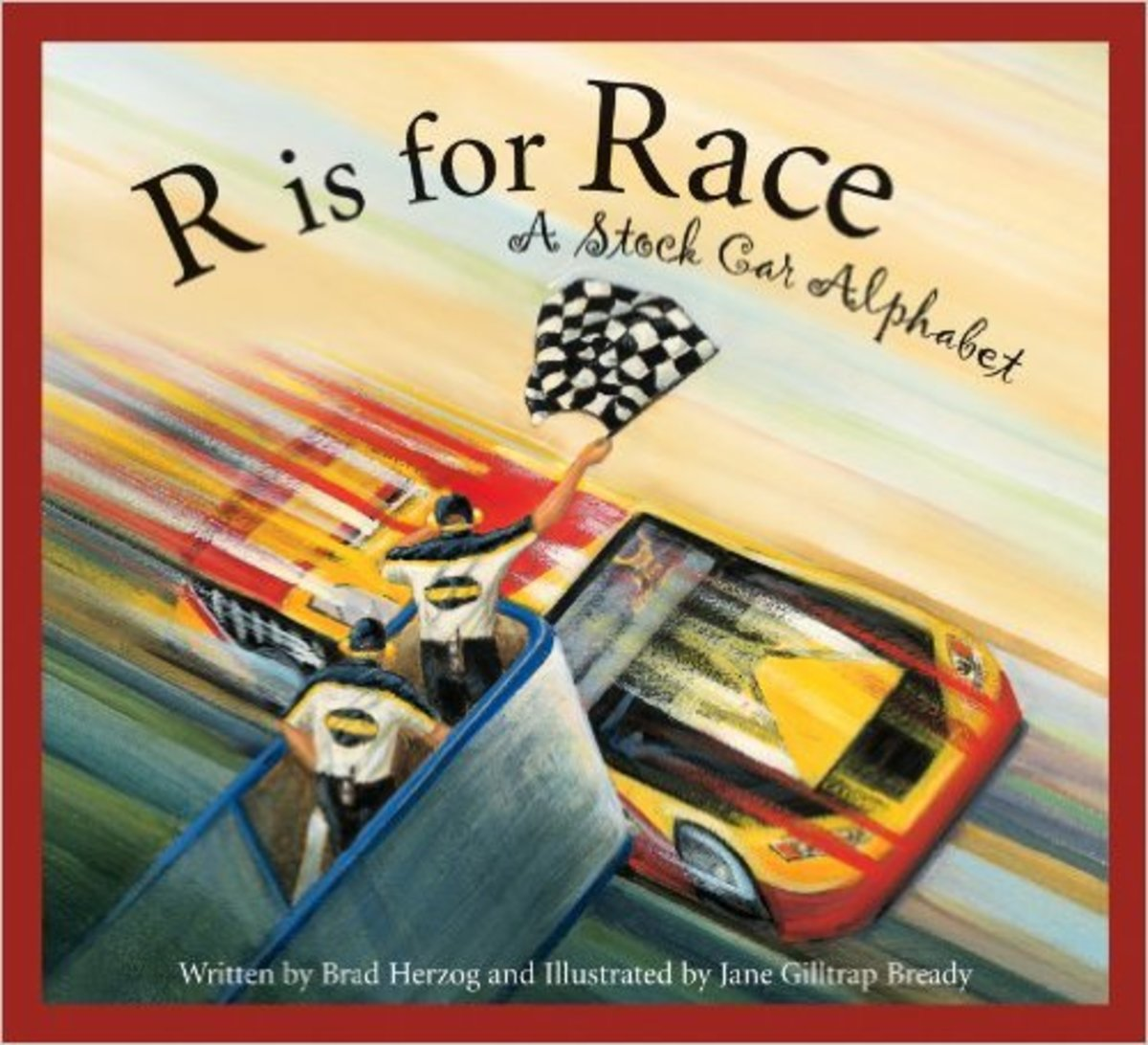 R is for Race: A Stock Car Alphabet (Sports Alphabet) by Brad Herzog
