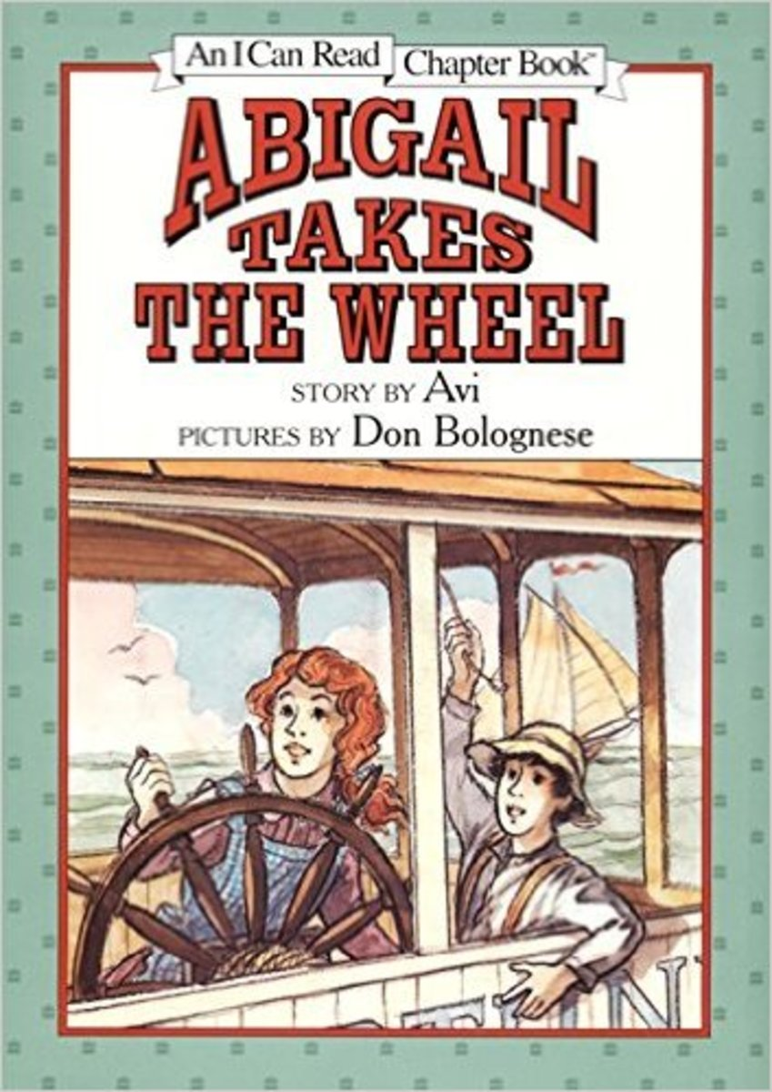 Abigail Takes the Wheel (I Can Read Chapter Books) by Avi