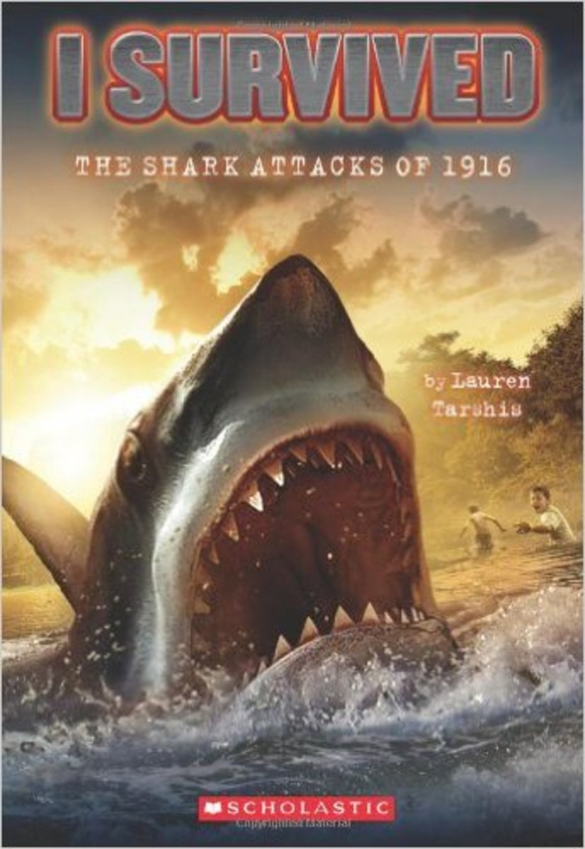 I Survived: The Shark Attacks of 1916 by Lauren Tarshis - Image is from amazon.com