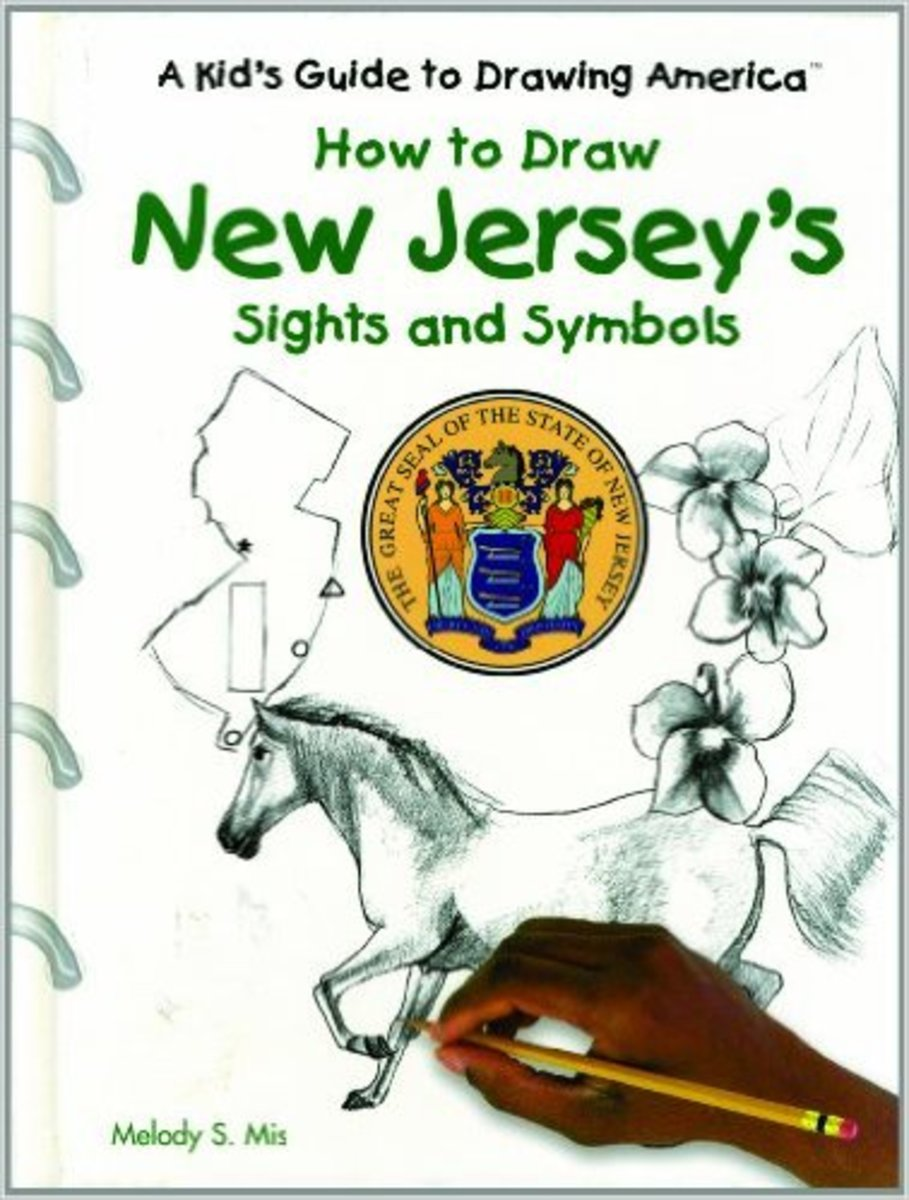 How to Draw New Jersey's Sights and Symbols (A Kid's Guide to Drawing America) by Melody S. Mis