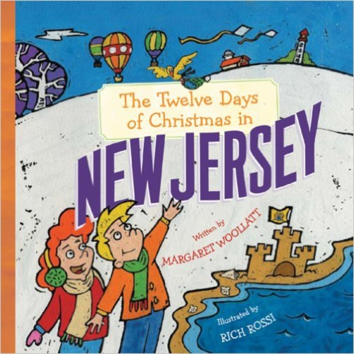 The Twelve Days of Christmas in New Jersey (The Twelve Days of Christmas in America) by Margaret Woollatt