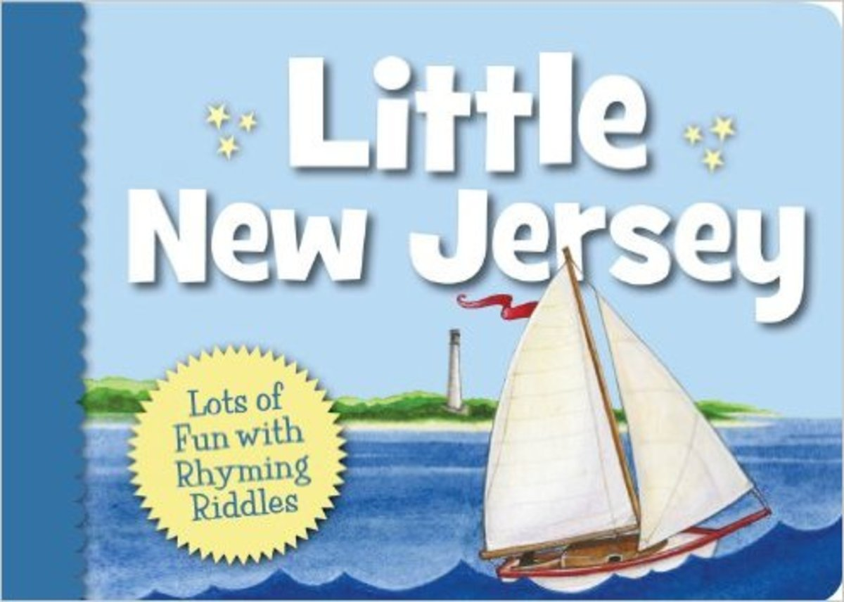 Little New Jersey (Little State) Board book by Trinka Hakes Noble - Image is from amazon.com
