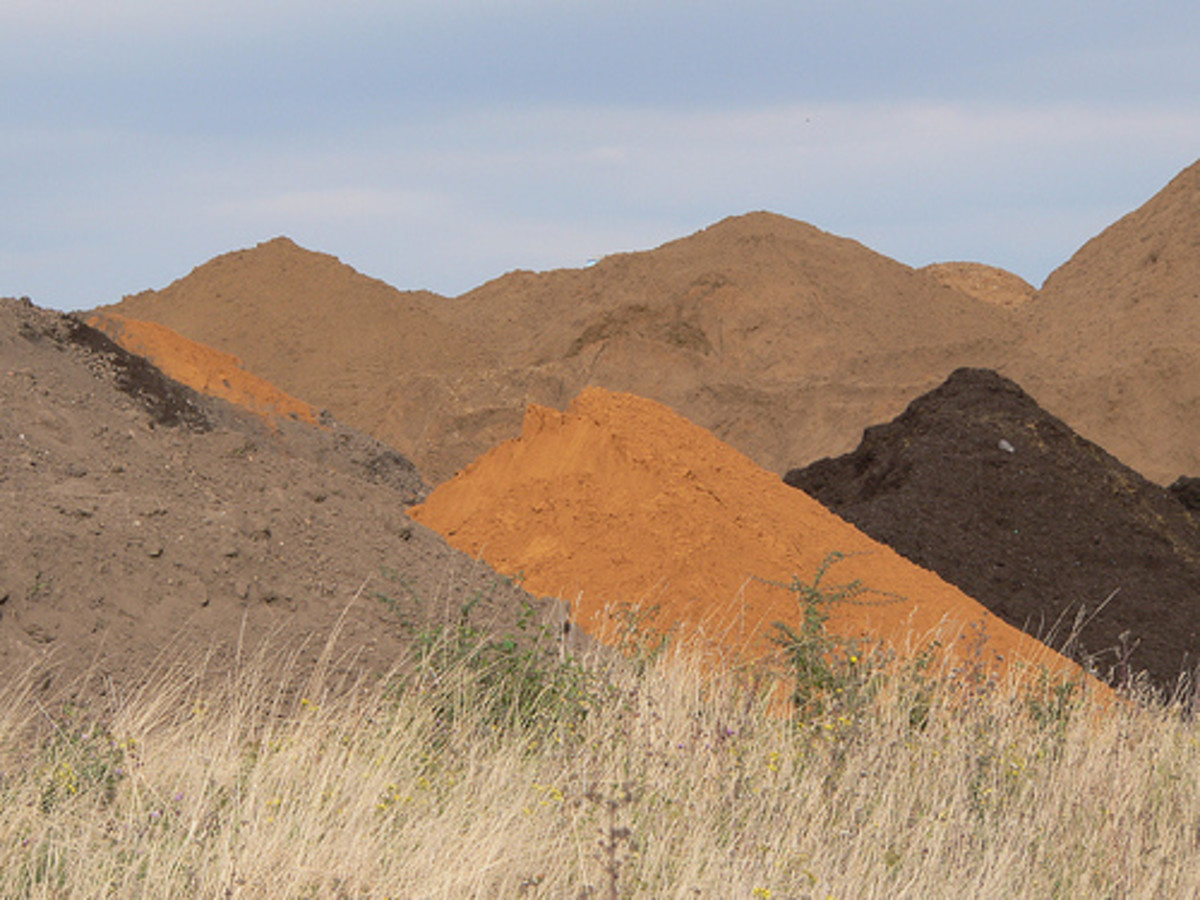 Pretty Piles of Dirt