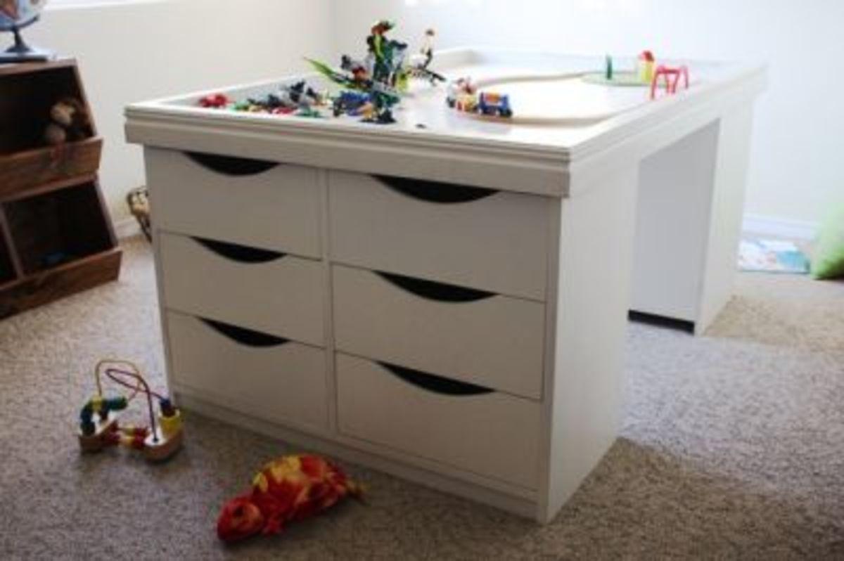 Lego desk.