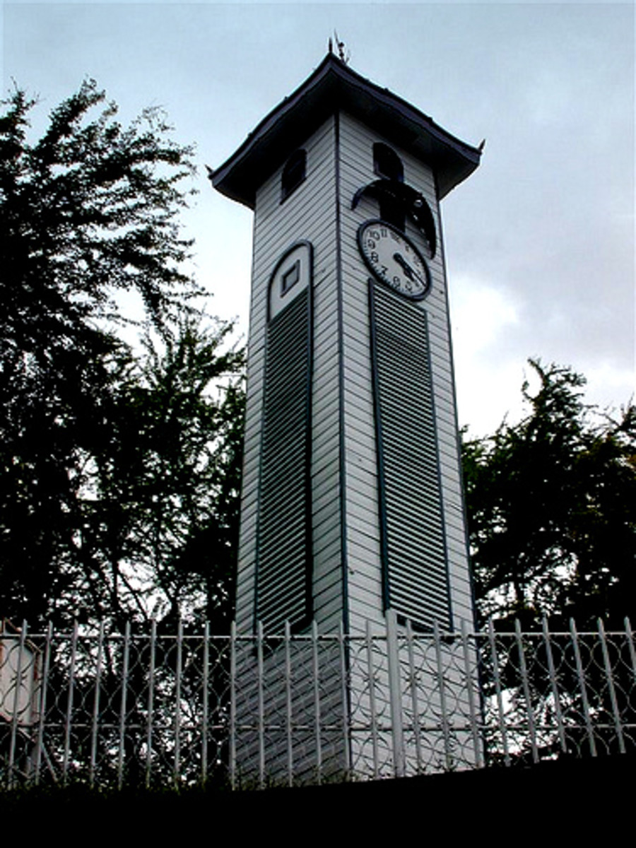 Atkinson Clock Tower, a mother's love for his son