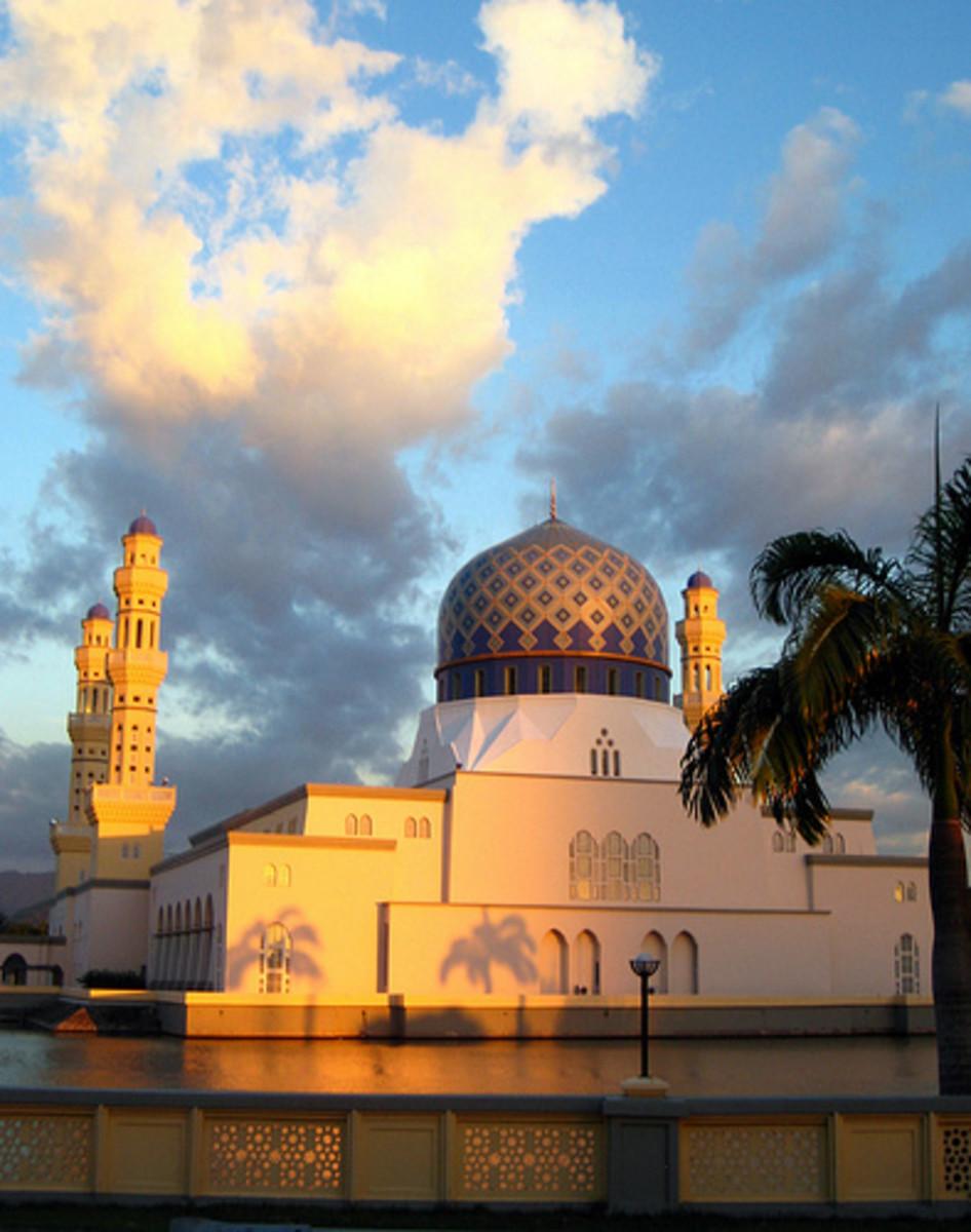 City Mosque at Likas Bay