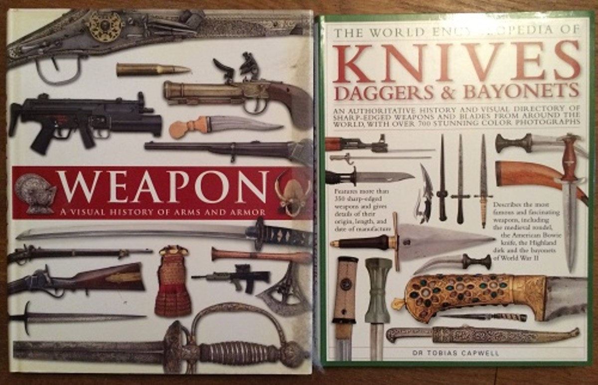 There are many books out there about weapons which are enjoyable to read and provide great pictures.