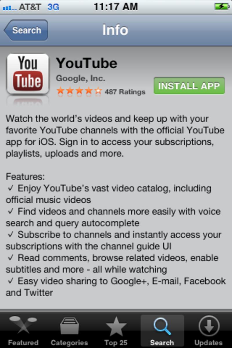 """Tap """"Install App."""""""