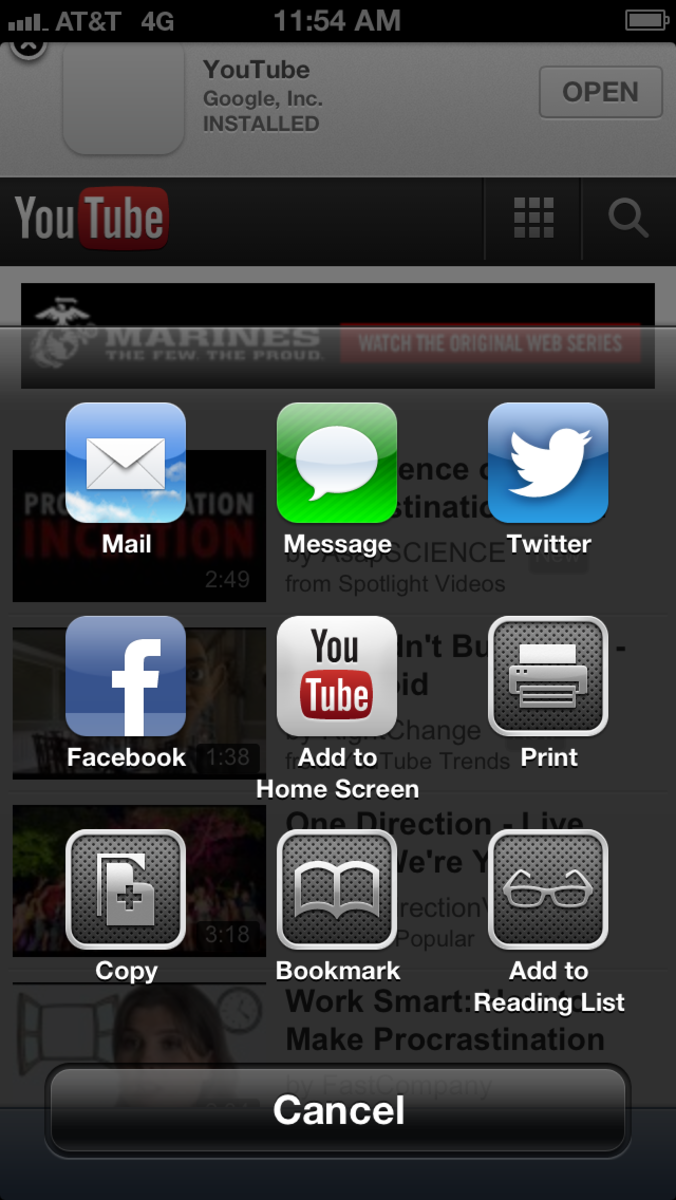 "Tap ""Add to Home Screen."""