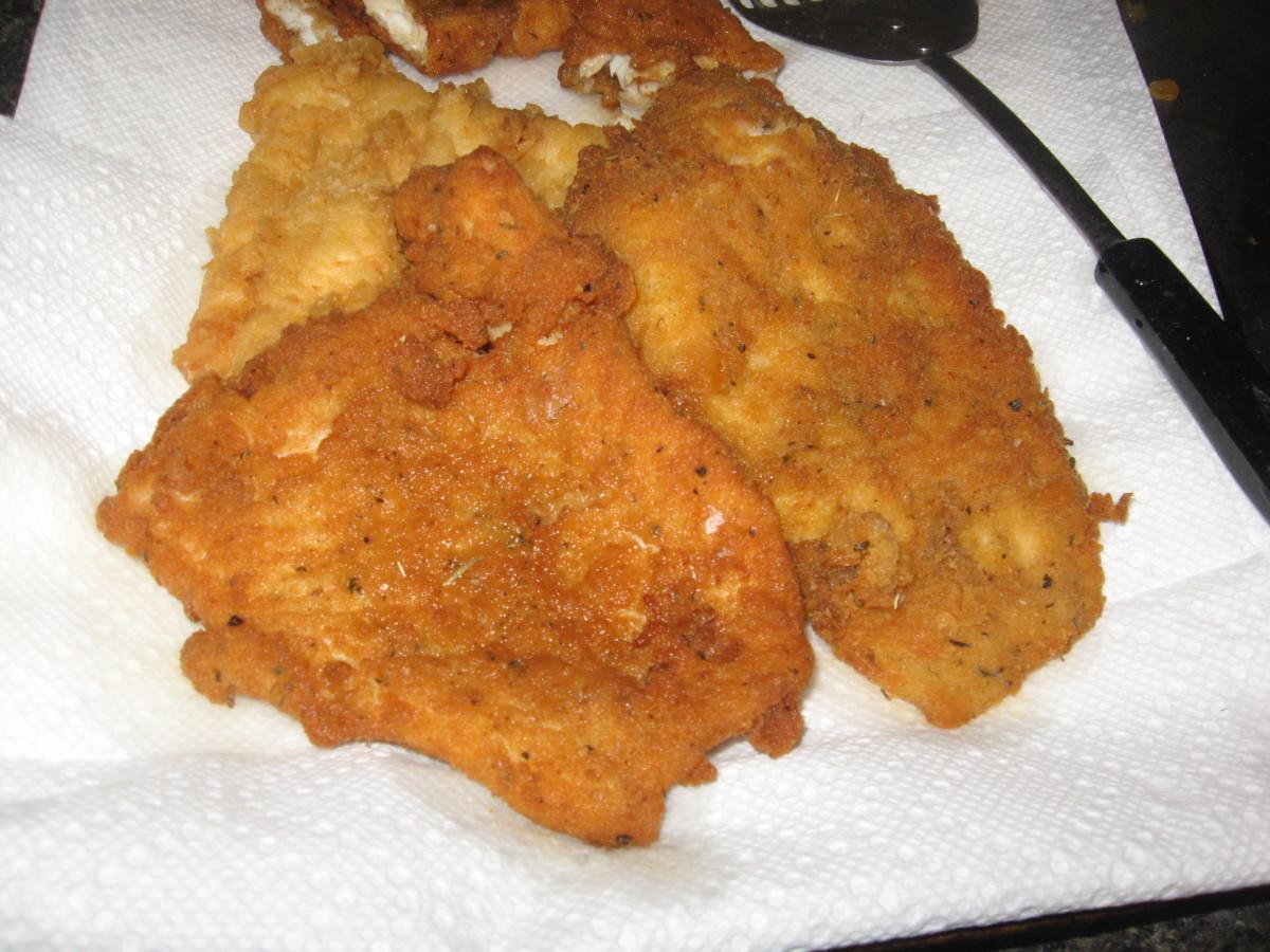 Cajun Fried Fish