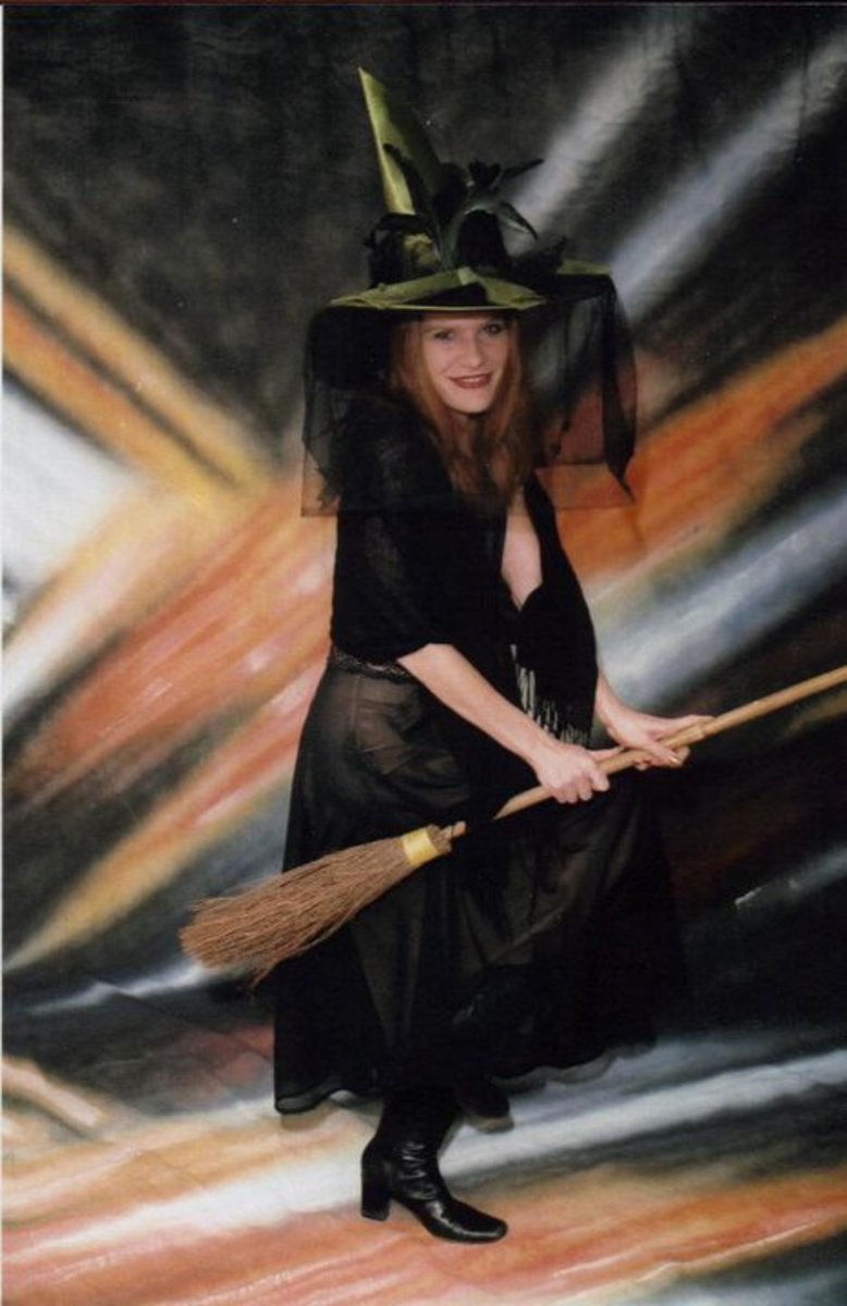 Me on my broomstick