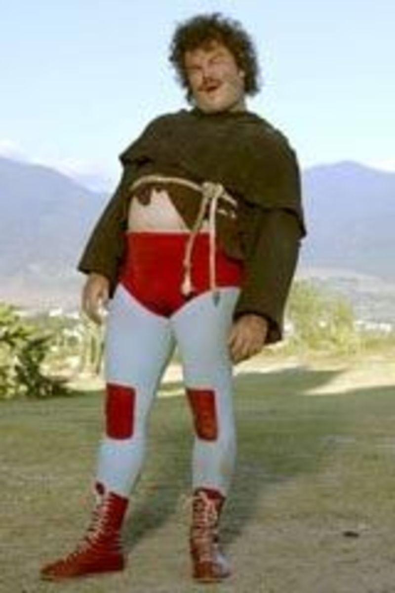 Nacho Libre Friar and Wrestler Costume