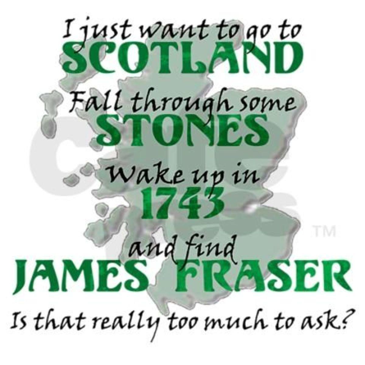 Find James Fraser Tote Bag Gift