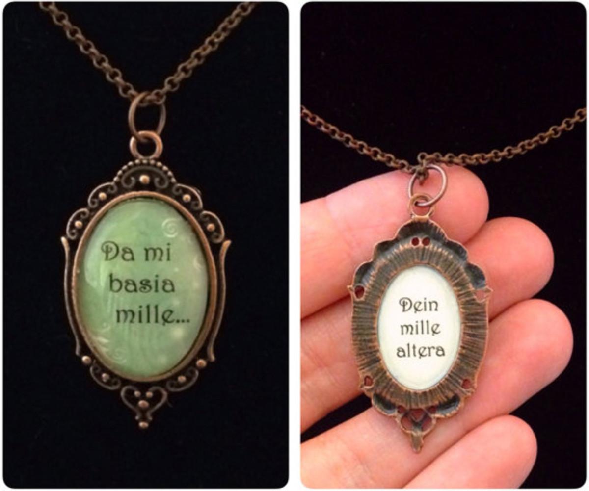 Da Mi Basia Mille Necklace - Outlander Inspired