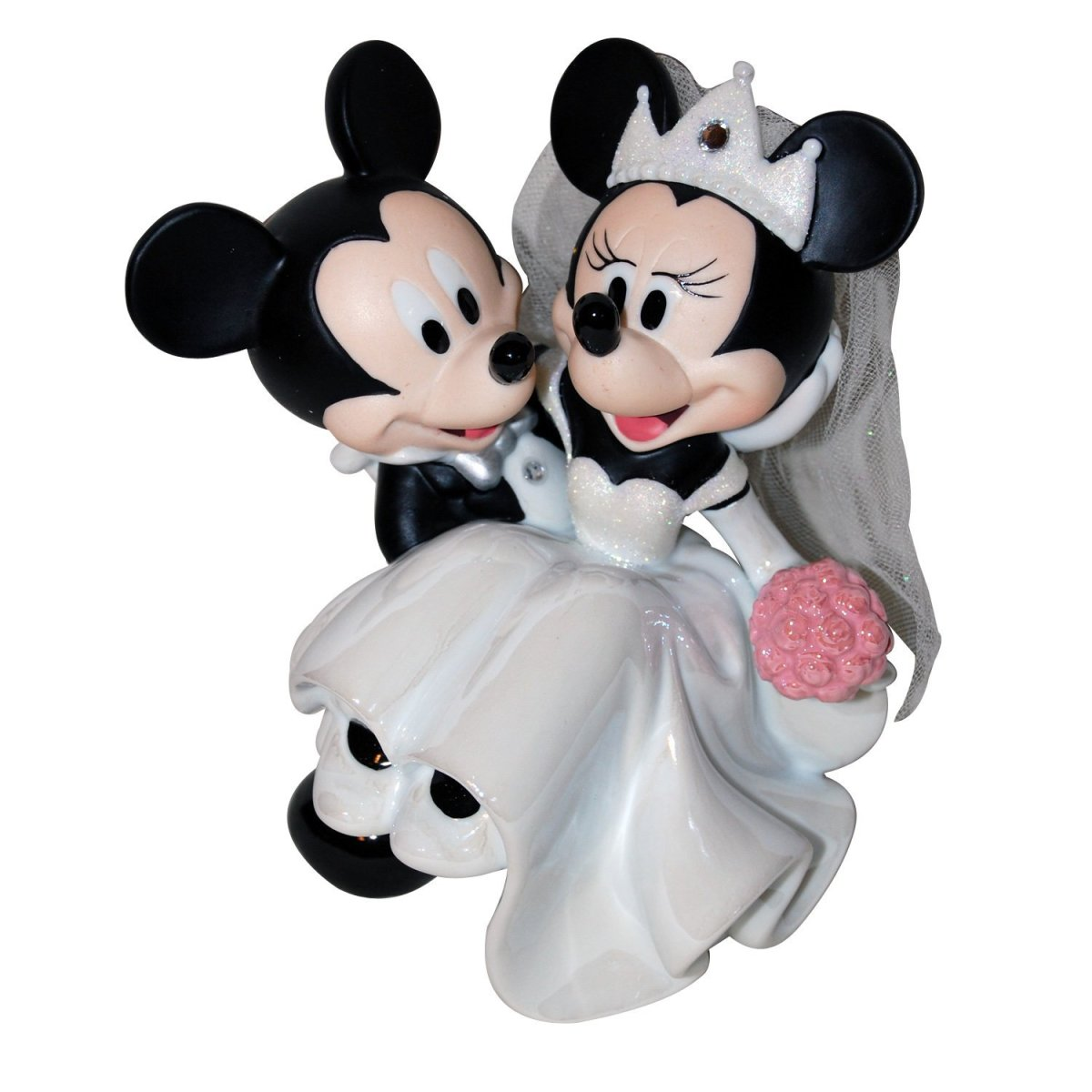 The Best Mickey and Minnie Wedding Cake Toppers