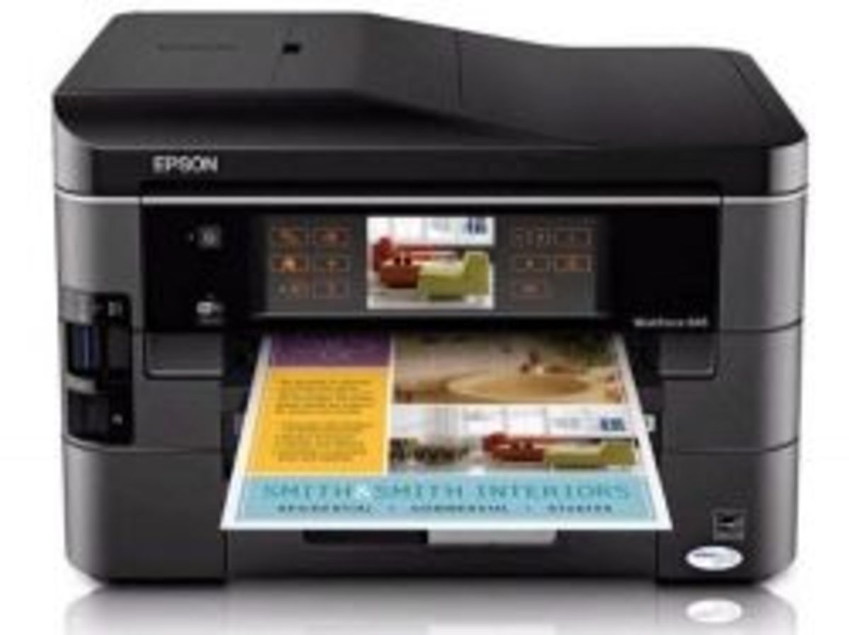 Epson Workforce 845 Printer Review