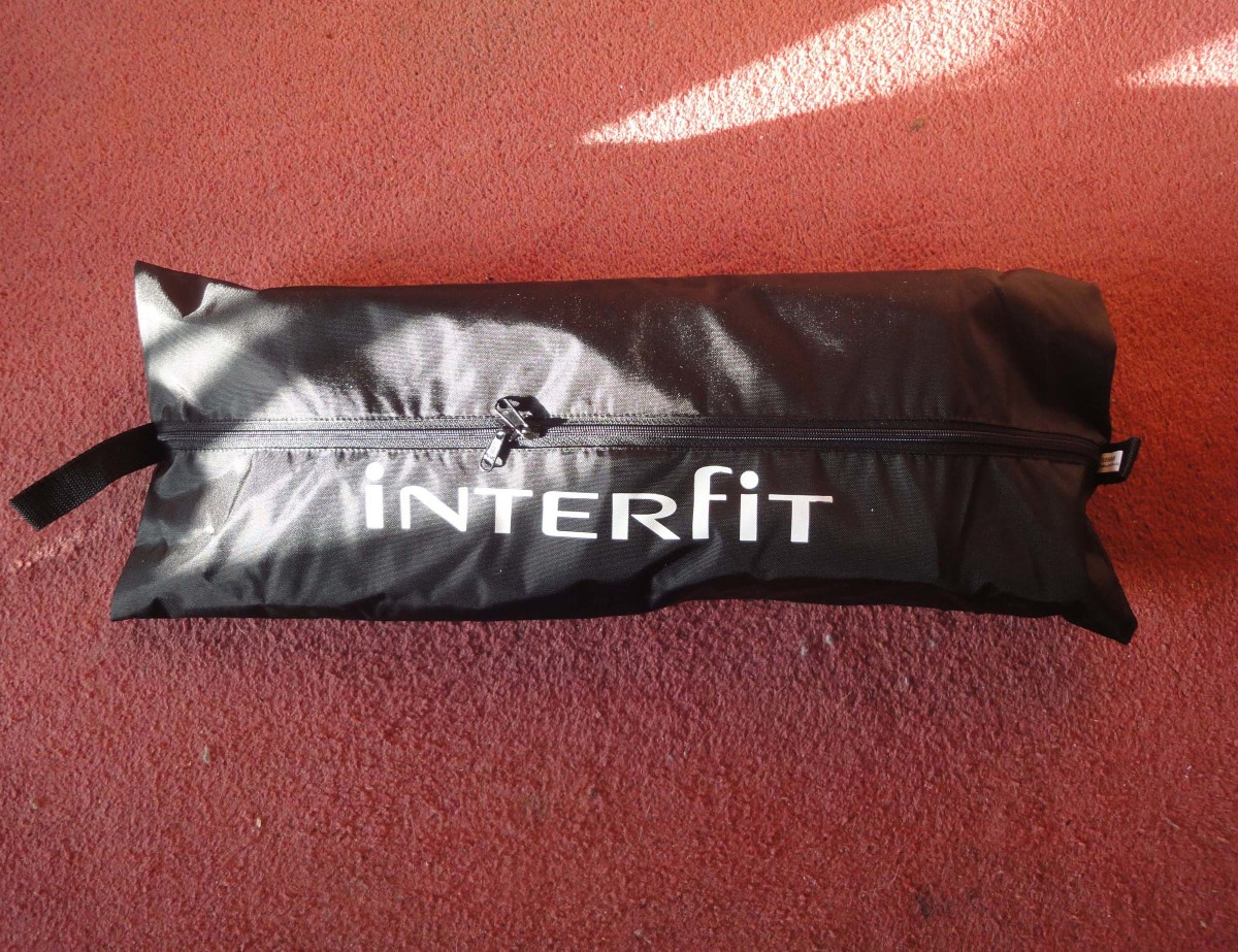 The InterFit bag for storing the beauty dish.