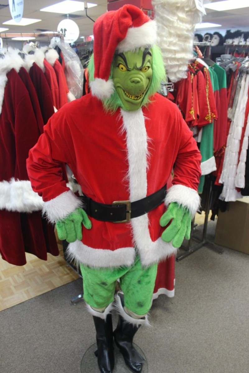 Cool grinch costumes and masks hubpages bad grinch solutioingenieria Image collections