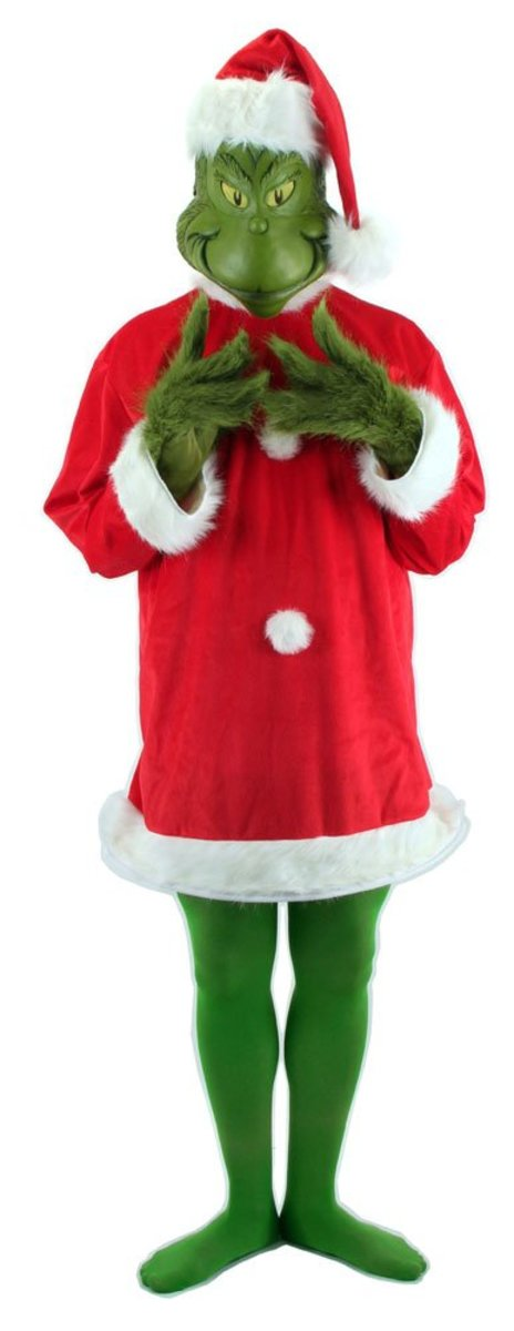 Cool Grinch Costumes and Masks