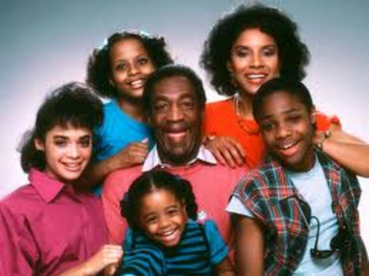 The Huxtable Children as they appeared on the Cosby Show