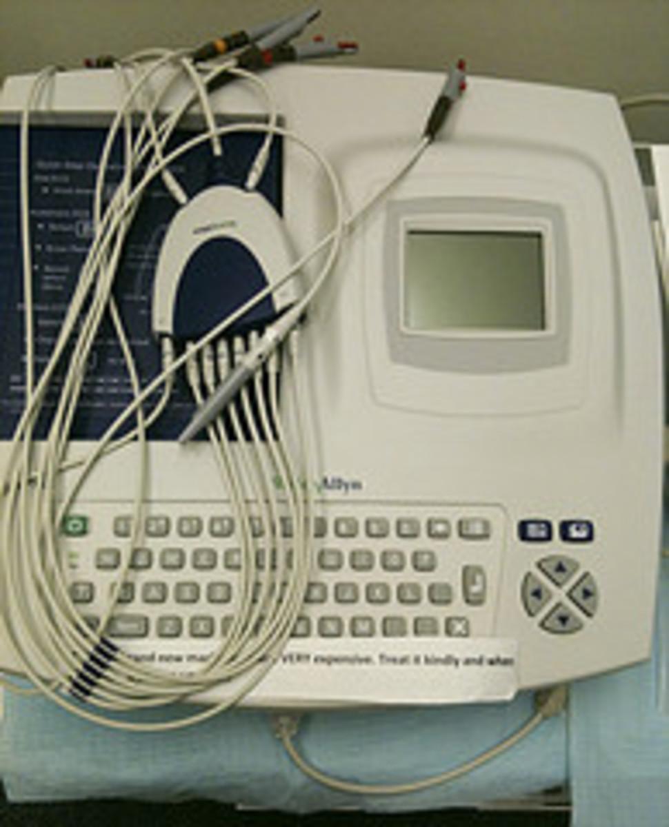 Hybrid Computer-ECG Machine