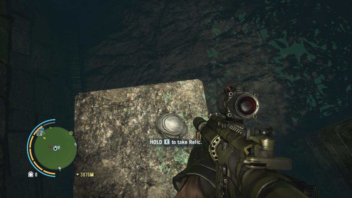 Archaeology 101 - Gameplay 04: Far Cry 3 Relic 8, Spider 8.