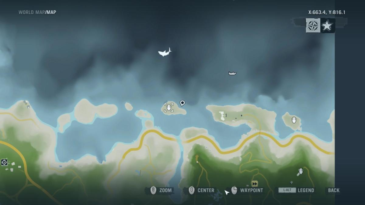 Archaeology 101 - Gameplay 01 Map: Far Cry 3 Relic 117, Heron 27.