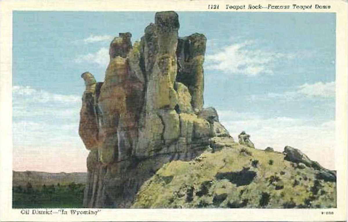 Teapot Dome about the time of the 1924 oil field scandal.