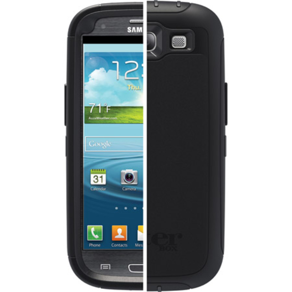 The OtterBox Defender offers two layers of protection for your Samsung Galaxy S3.