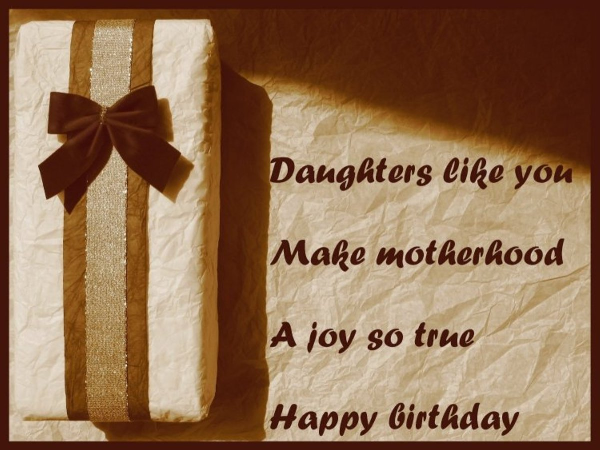 Happy birthday wishes for your daughter: Messages and poems straight ...