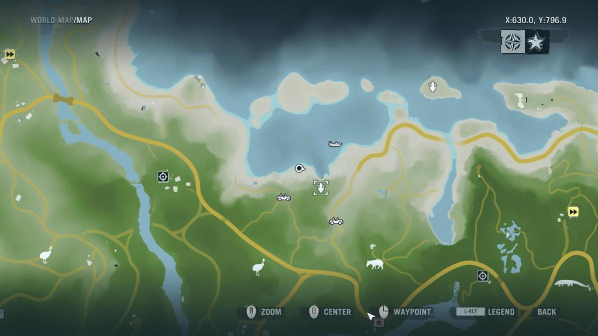 Archaeology 101 - Gameplay 01 Map: Far Cry 3 Relic 38, Shark 8.