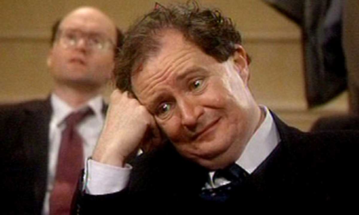 Some time ago there was a short-lived BBC sitcom called 'The Peter Principle'. Starring Jim Broadbent, it featured a small-time bank manager, who was incompetently struggling to stay on top of his job