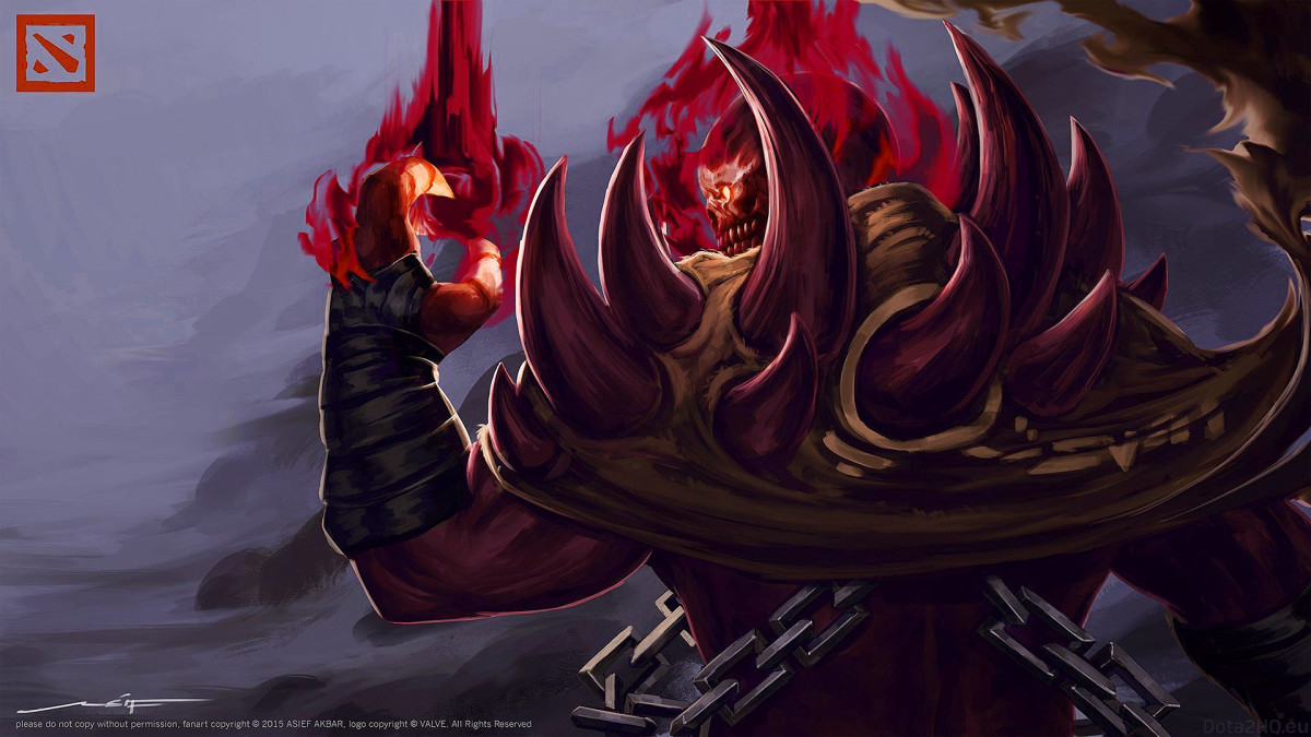 Eredar the Shadow Demon HD Wallpaper