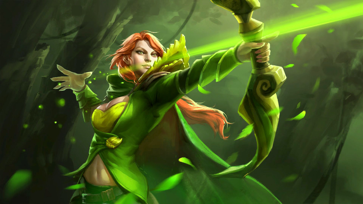 Windranger DOTA 2 HD Wallpaper