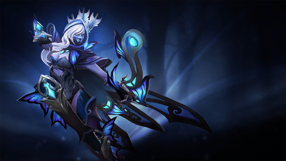Drow Ranger HD Wallpaper