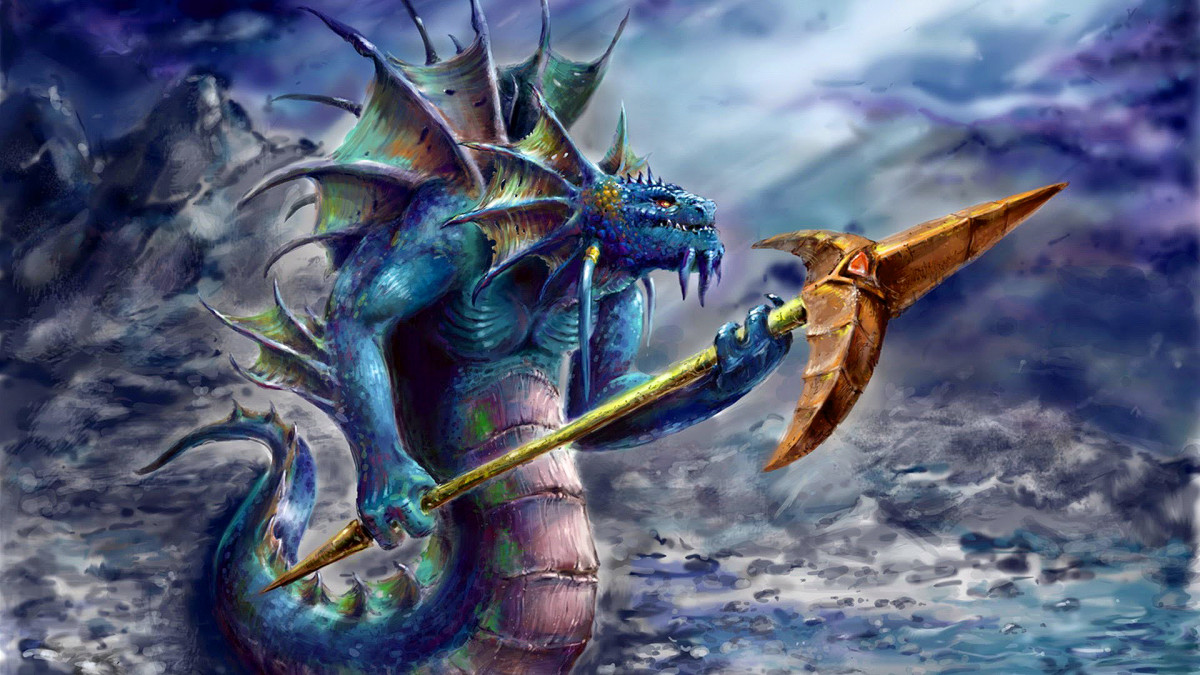 Slardar the Slithereen Guard HD Wallpaper