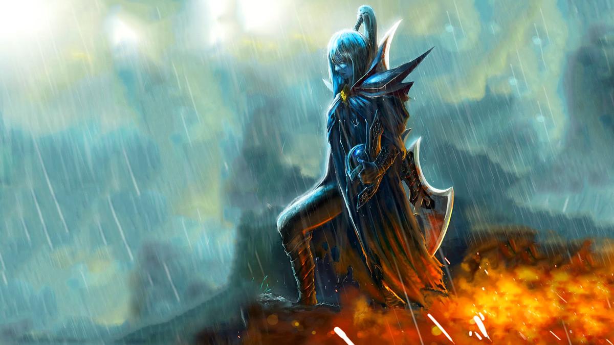 Mortred the Phantom Assassin HD Wallpaper